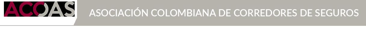 ASOCIACION COLOMBIANA DE CORREDORES DE SEGUROS